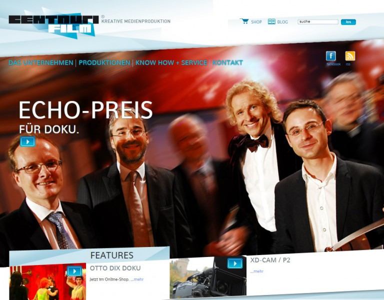 Centauri Webseite