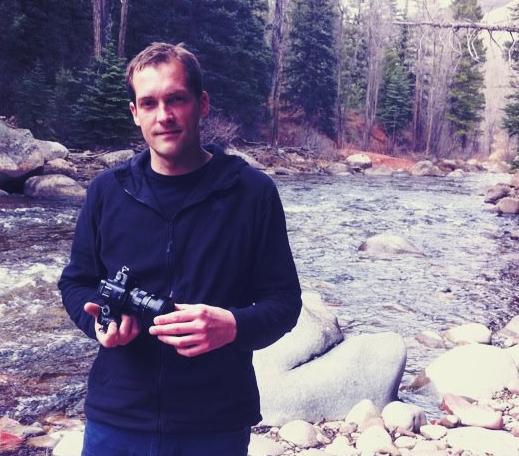 Filmemacher Mark Michel hat viel Zeit fürs Crowfunding investiert. Foto: Privat